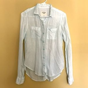 Abercrombie & Fitch Long Sleeve Button Down